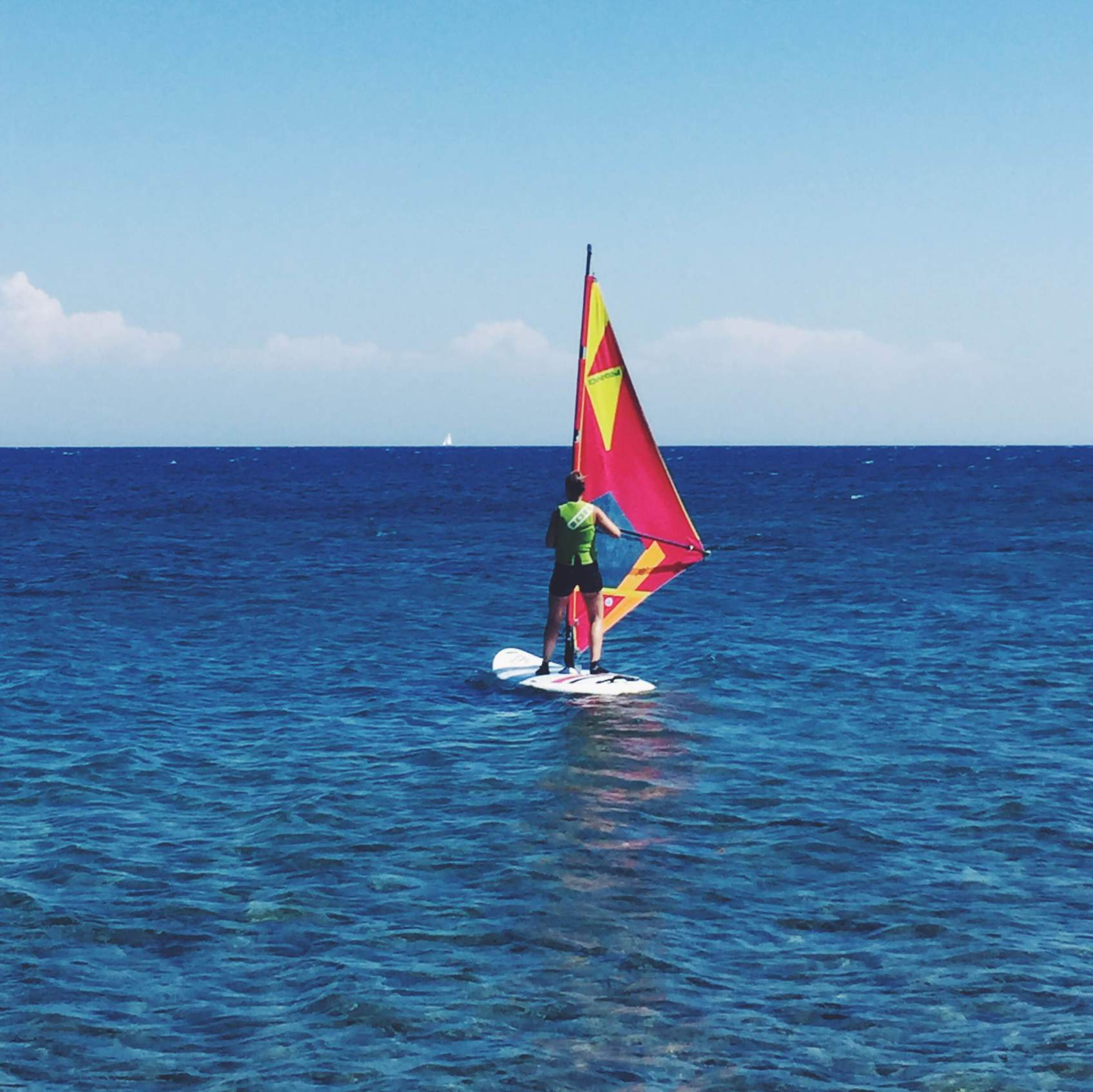 Windsurfing at Kos