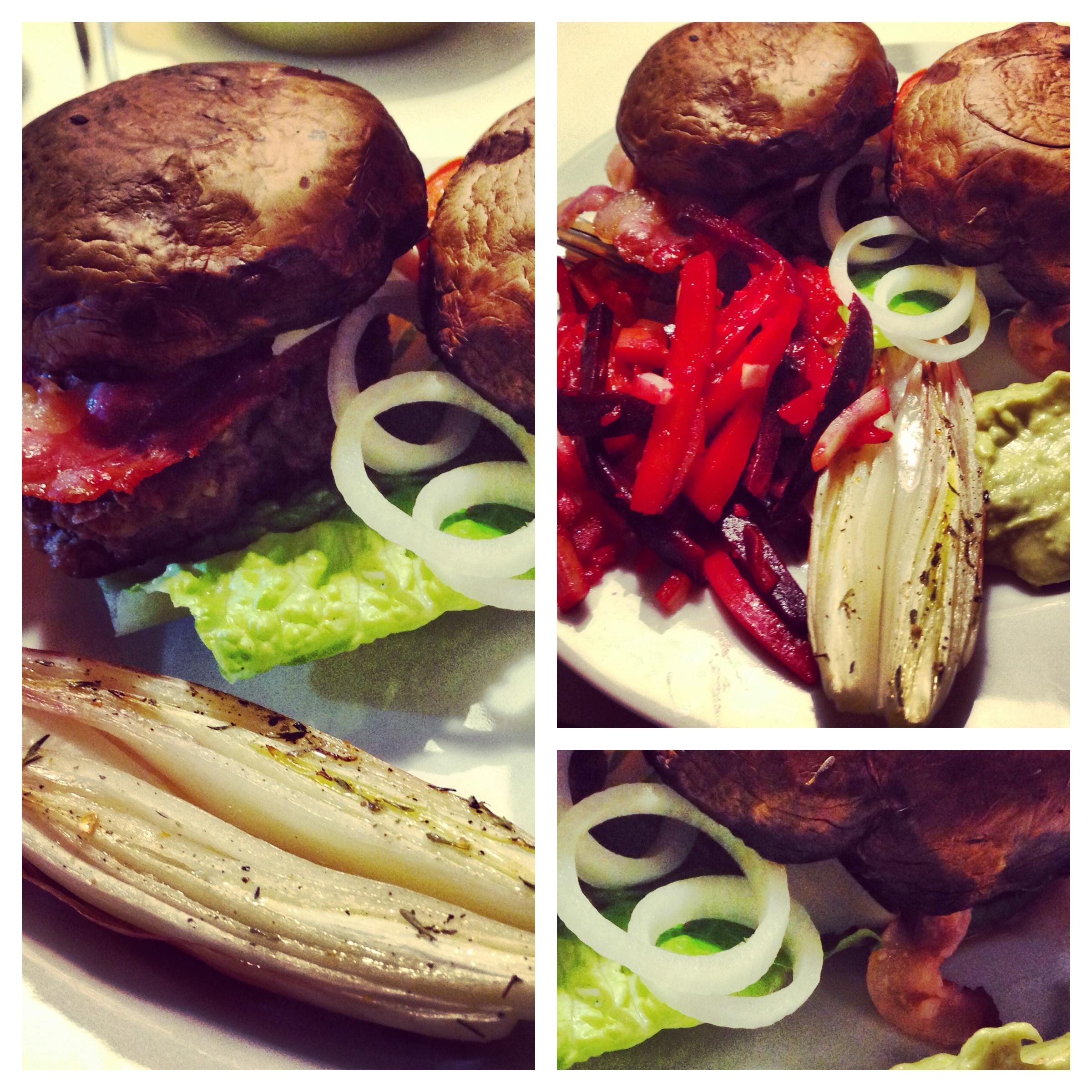 hjemmelavet-burger-portobello