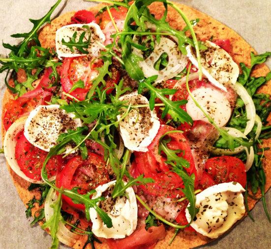wrap-pizza opskrift
