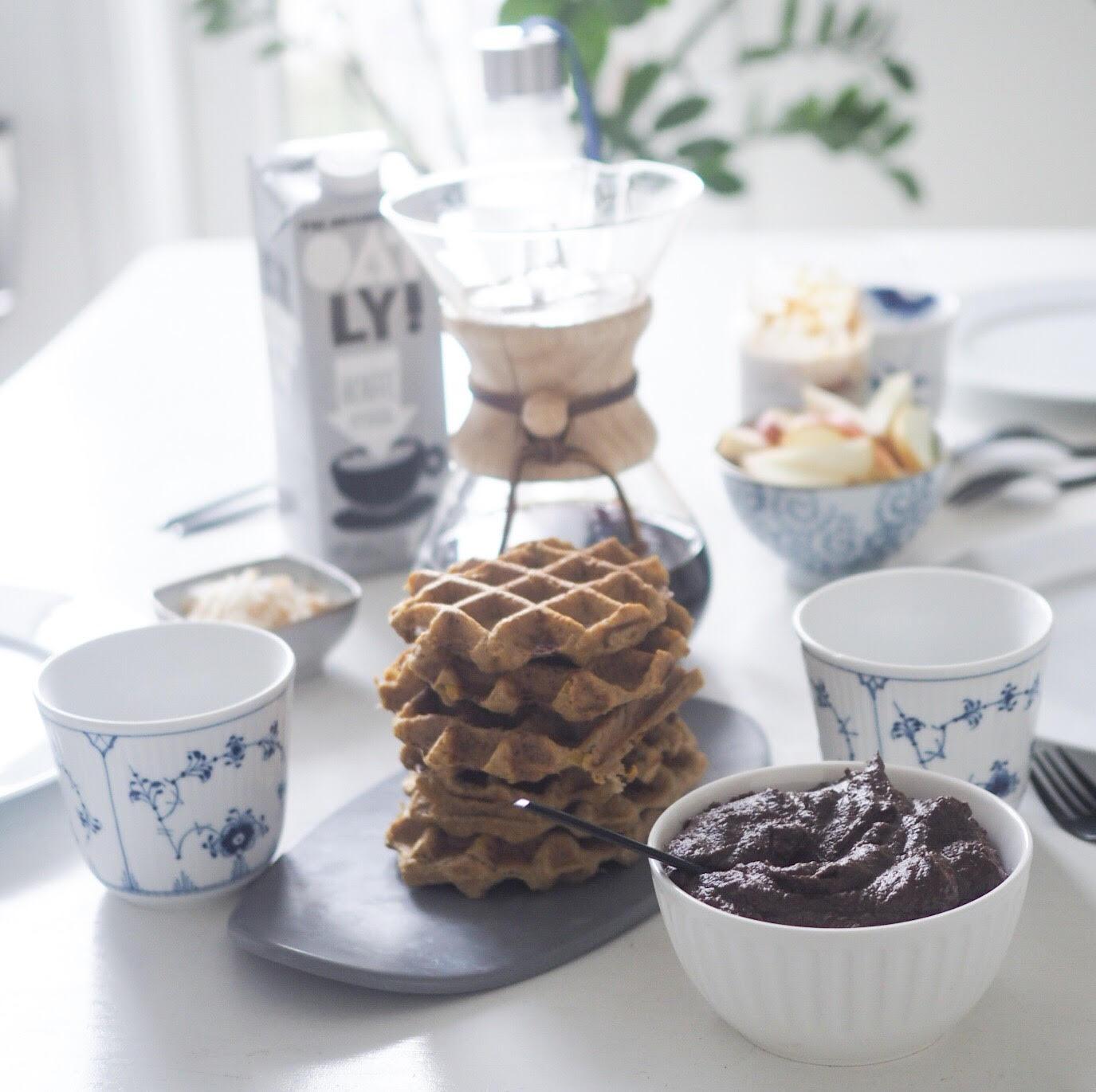 brunch og hjemmelavet nutella