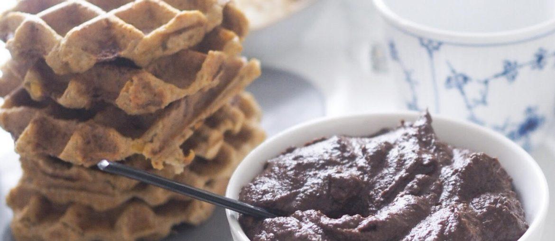 sund nutella og vafler