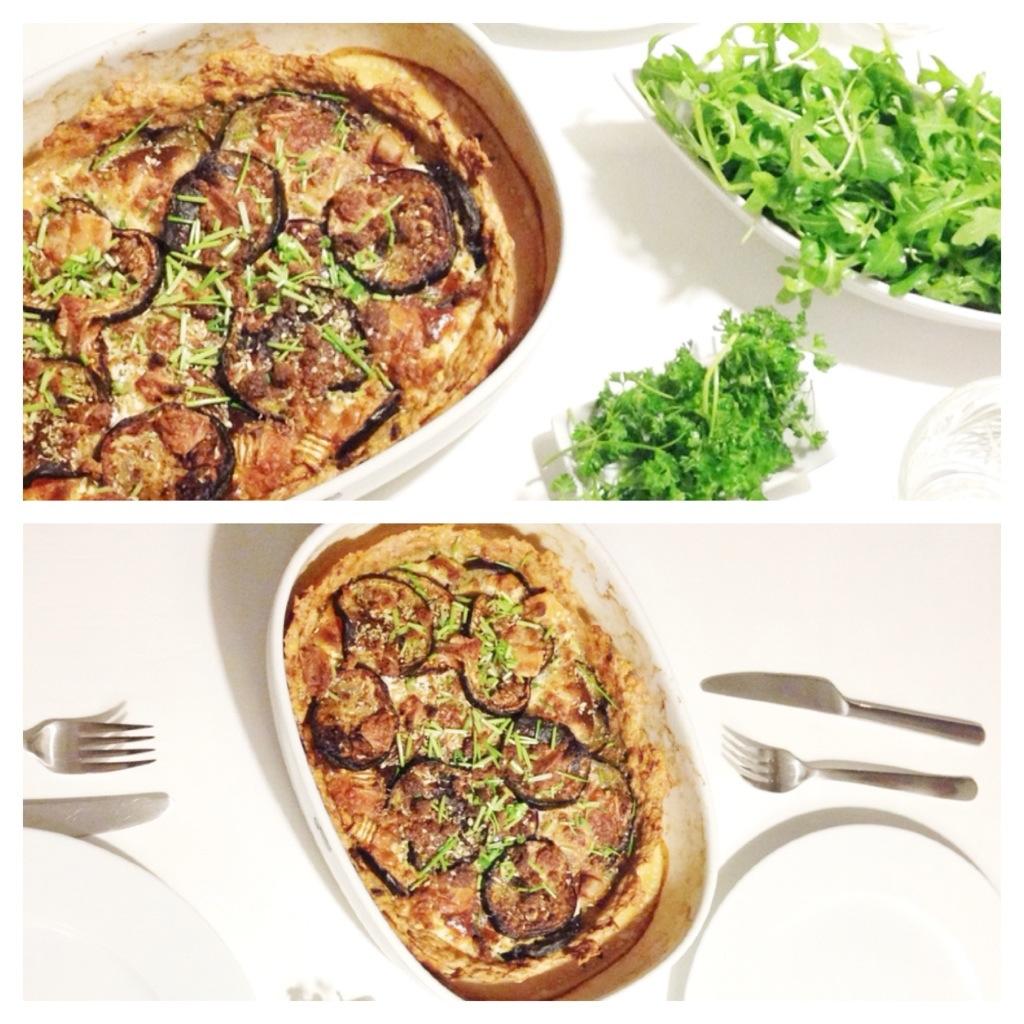 Tærte til aftensmad på bund af kylling og med gedeost. Fransk mad, men glutenfri, sund og palæo / paleo