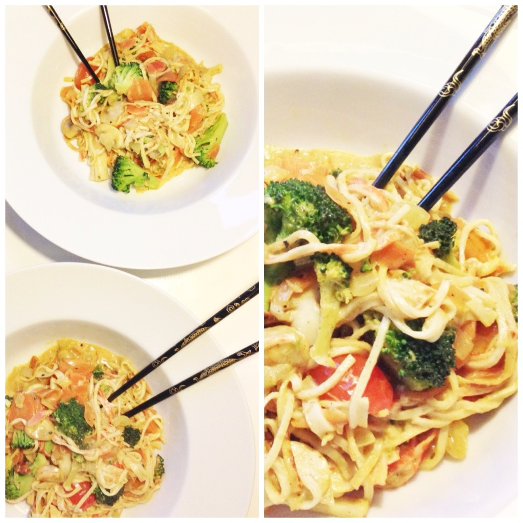 wok opskrift surimi. Thai mad hjemmelavet