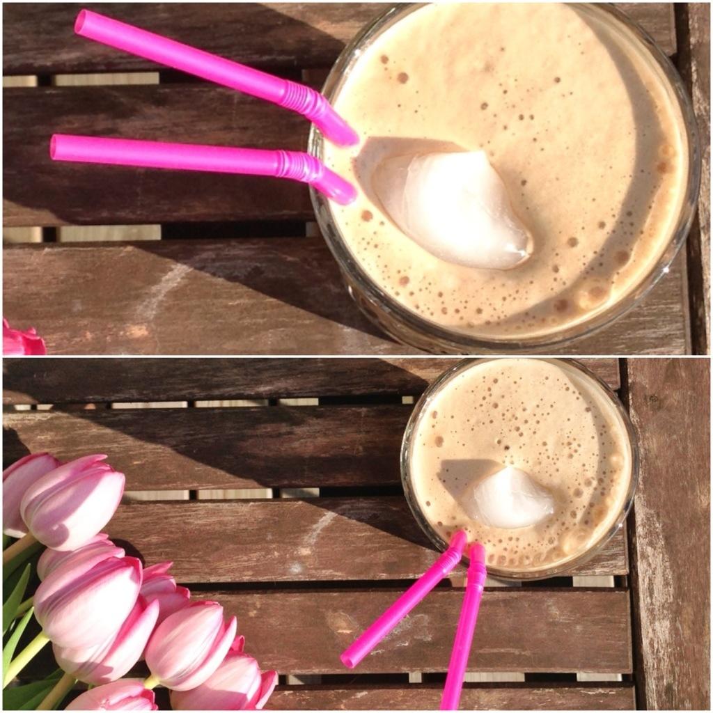 iskaffe - 2 forskellige opskrifter. Uden sukker