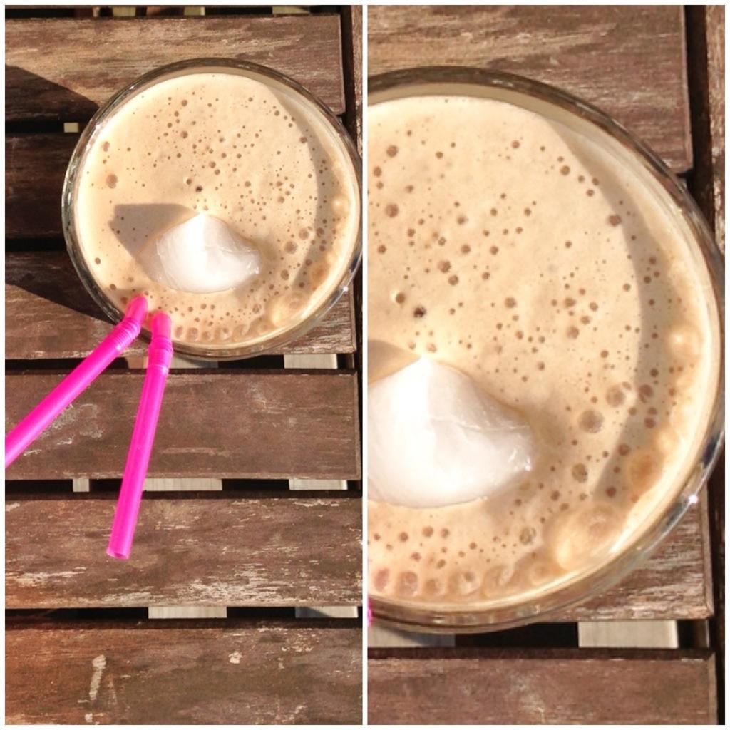 iskaffe opskrift