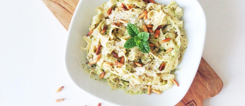 Vegetarisk og glutenfri pastaopskrift