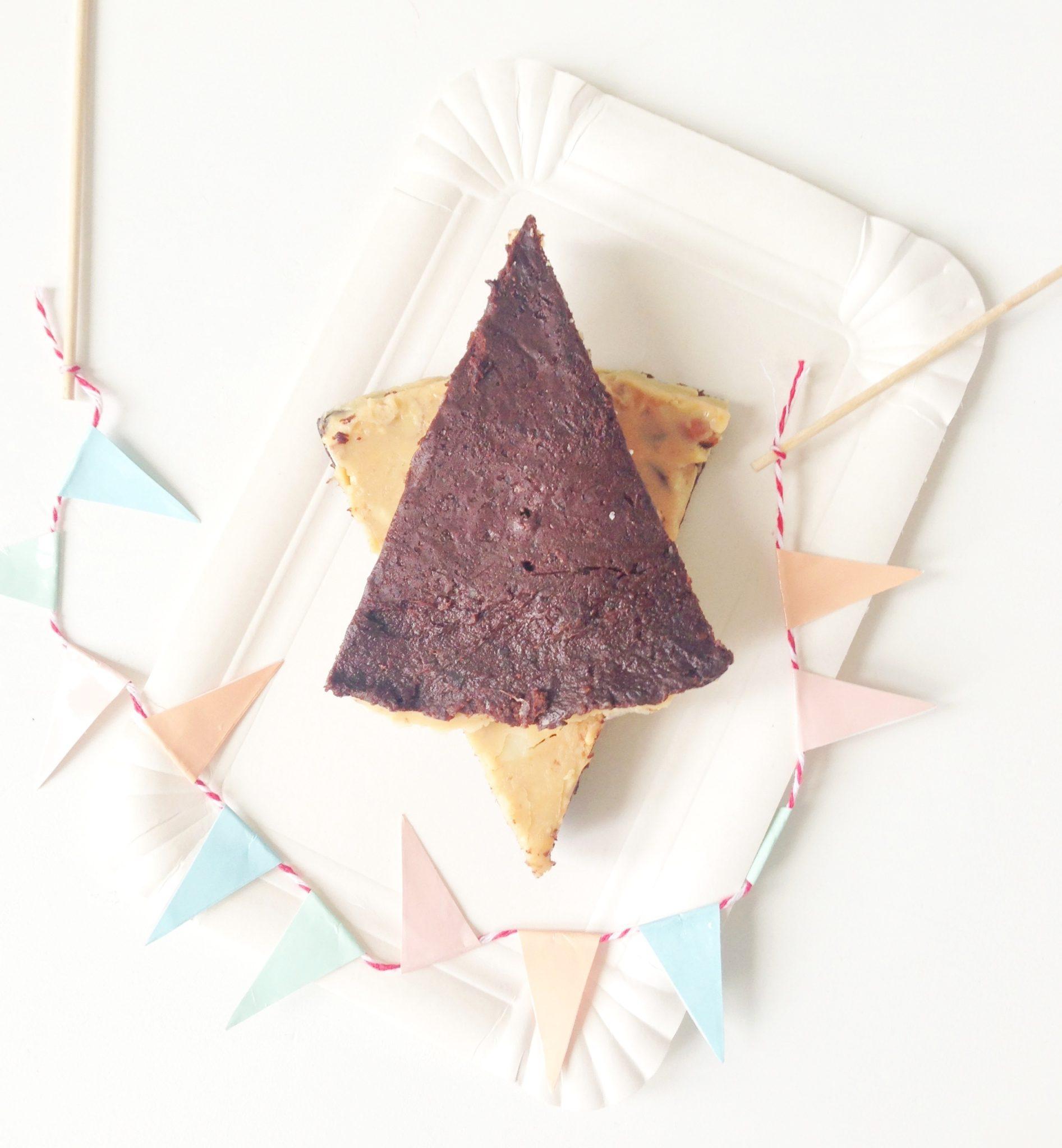 Opskrift på lækker og sund snickerskage