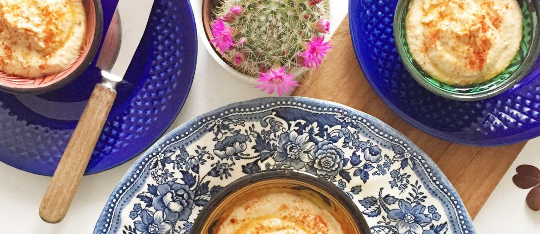 hummus eller humus opskrift med Wilfa køkkenmaskine