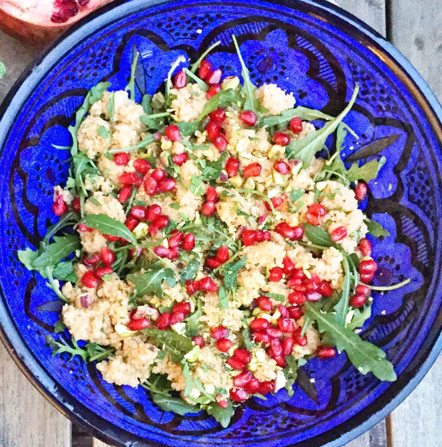 Opskrift på couscous - farverig, sund og lækker