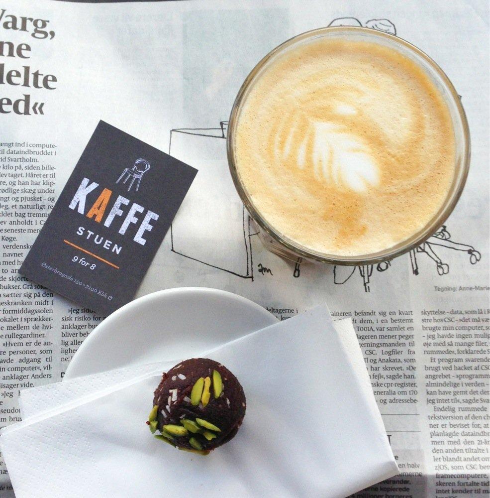 Cafeer med wifi og gode arbejdsforhold