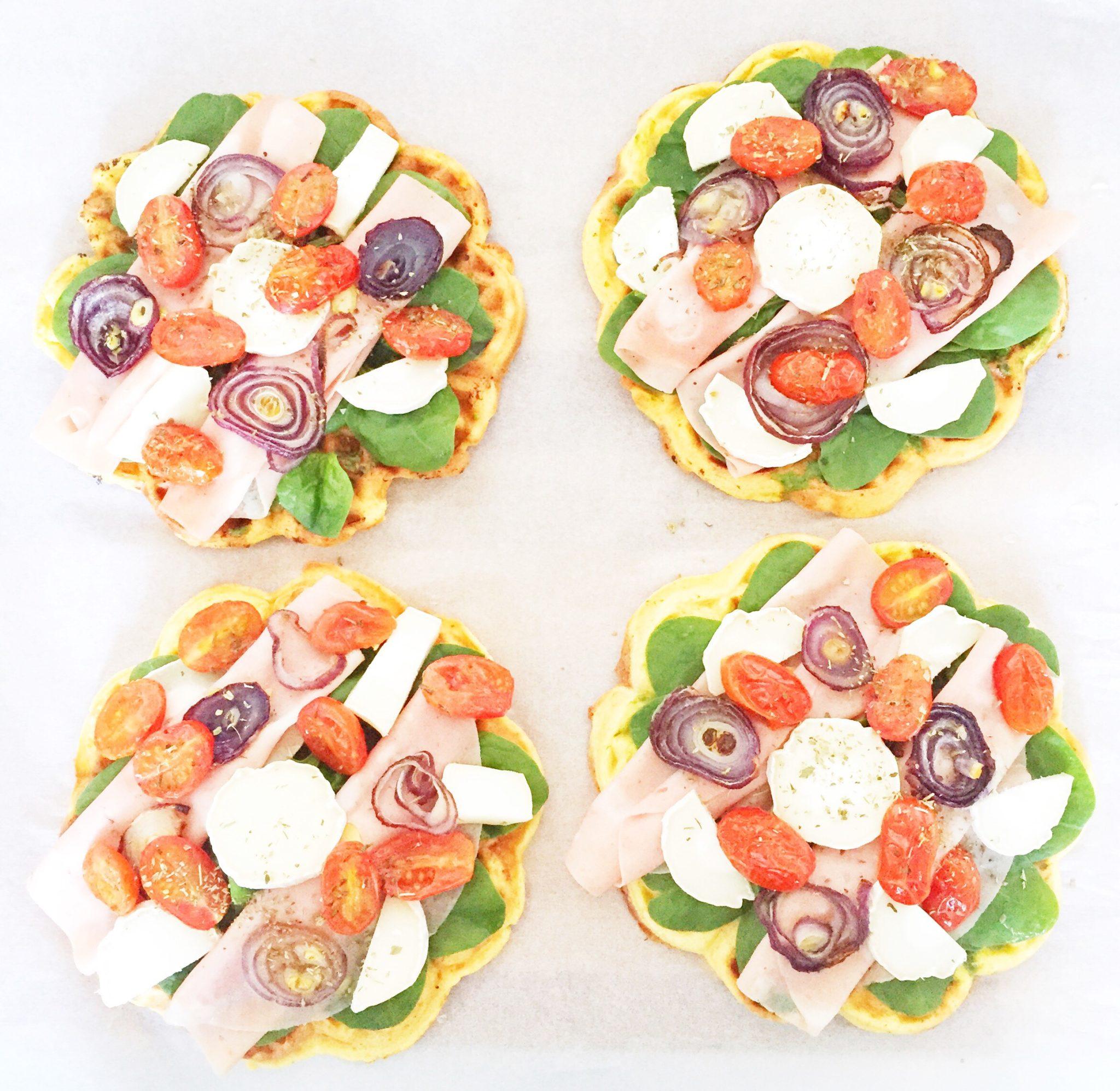 Vaffelpizza