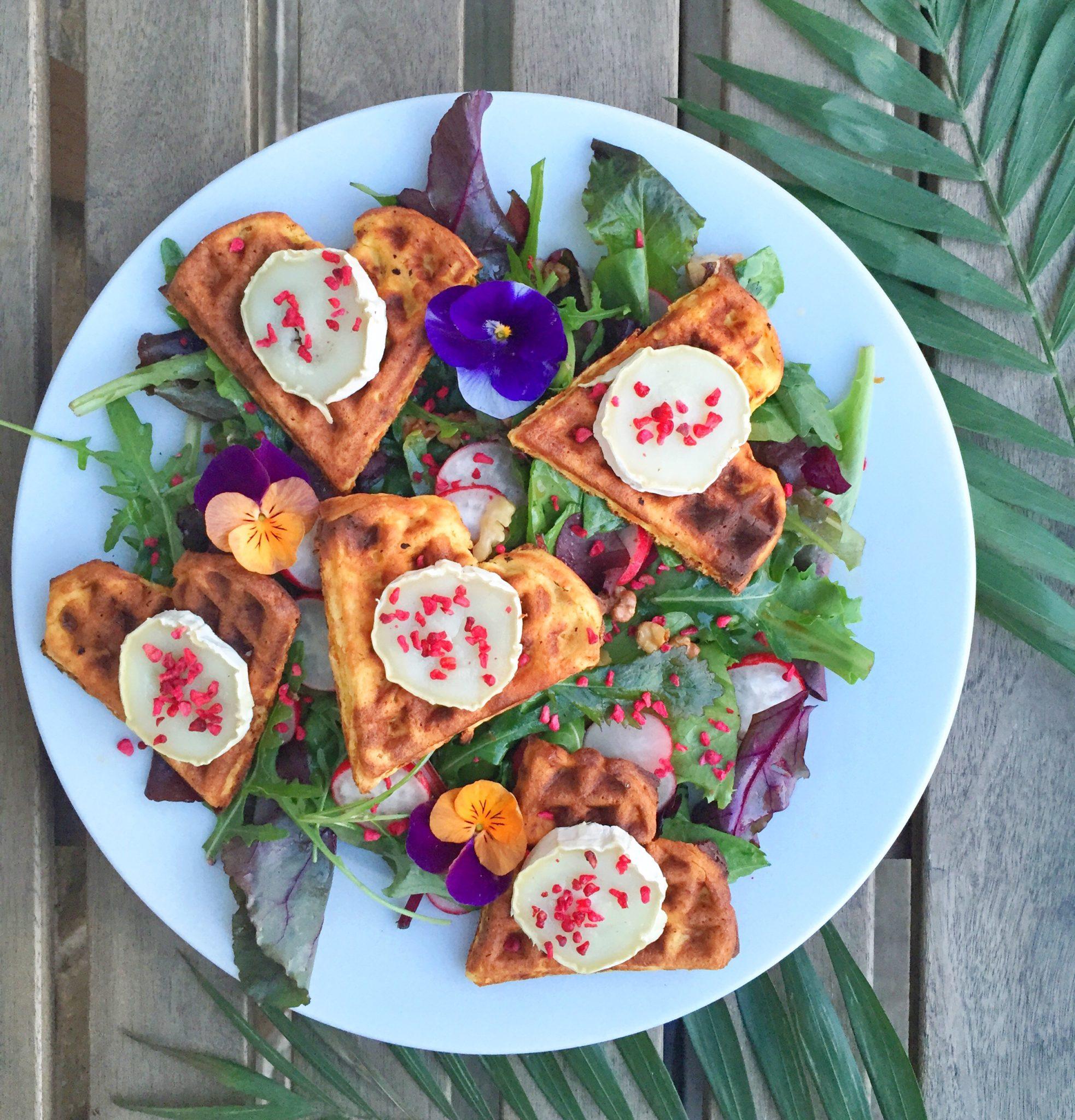 Salade de chèvre / gedeostsalat