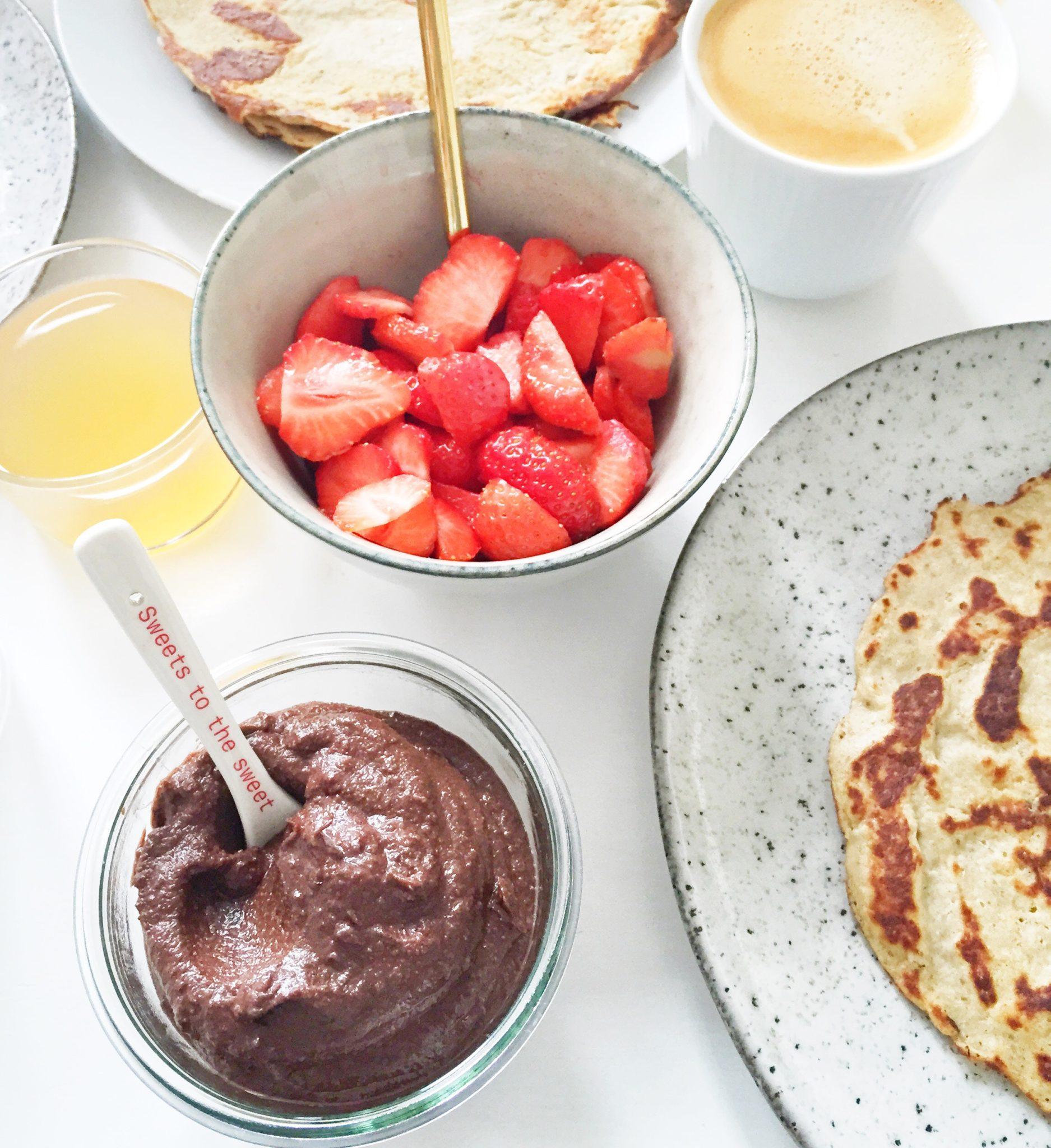 Opskrift på de bedste pandekager med cashewyoghurt