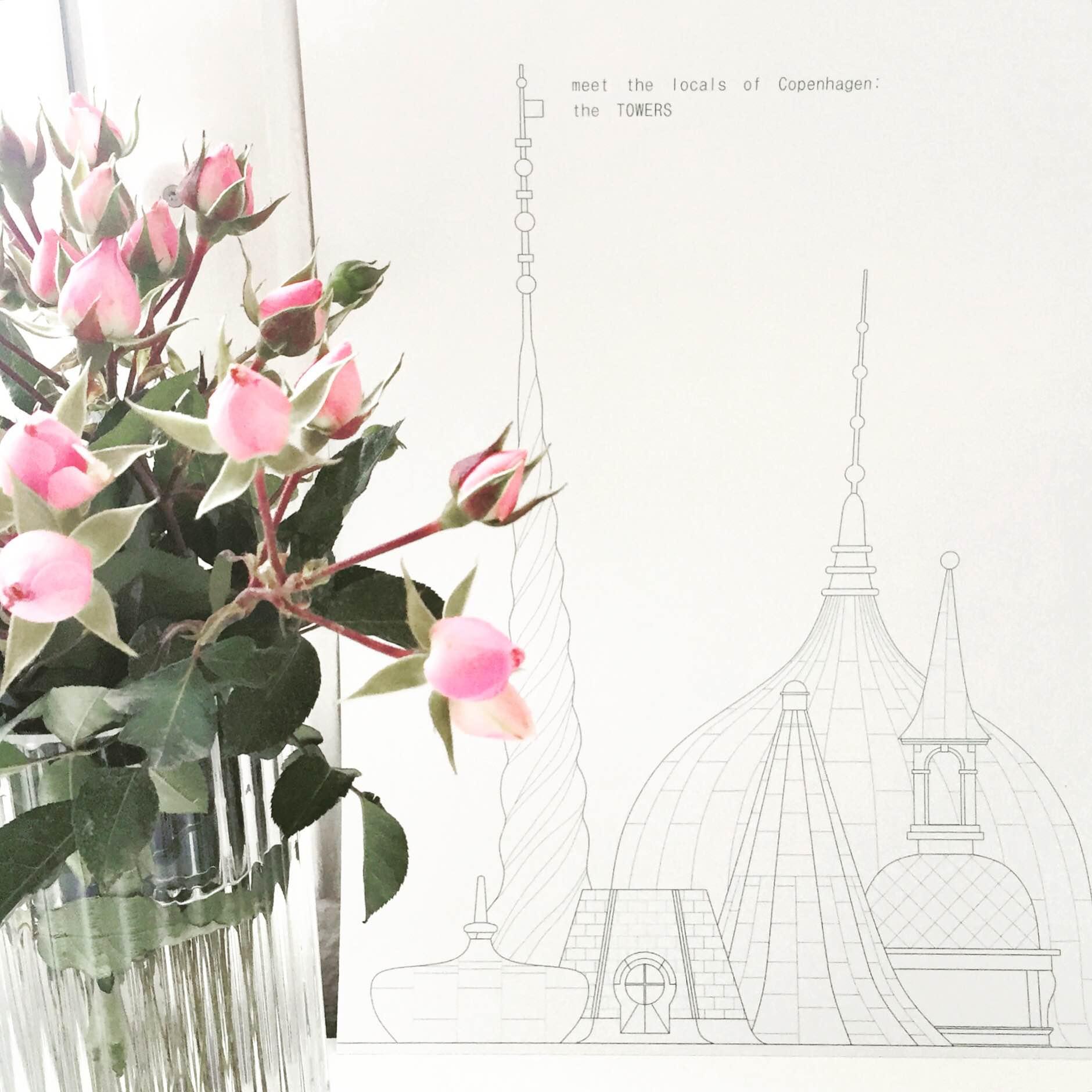 Lyngbyvasen og grafik af Hamide