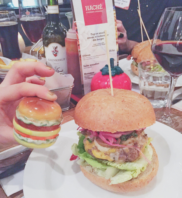 Kødfri mandag med vegetarburgere fra Haché restaurant i København