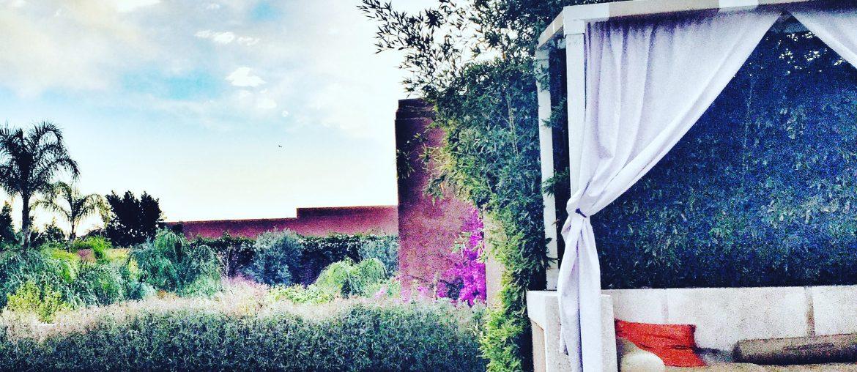Afslpaning i Marrakech