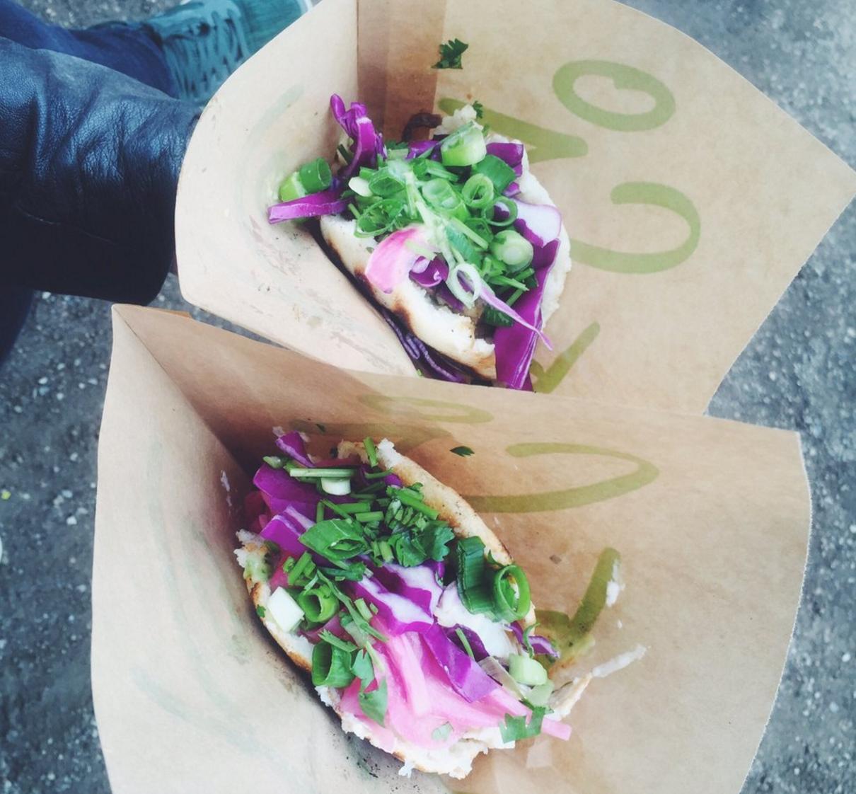 Street Food Festival ved Søerne 2015. Arepas fra El Jefe