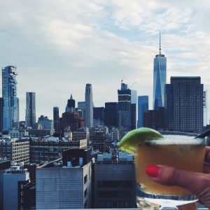 View from Azul on the Rooftop, New York