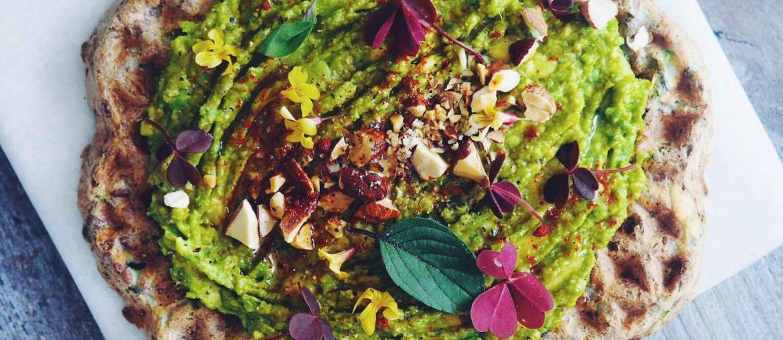 Glutenfri og sunde squashvafler med avokado