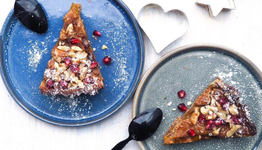 Sukkerfri og glutenfri græskartærte