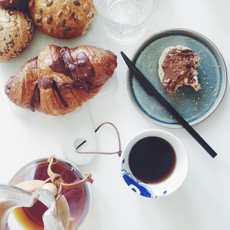 Morgenmad og kaffe fra Chemex