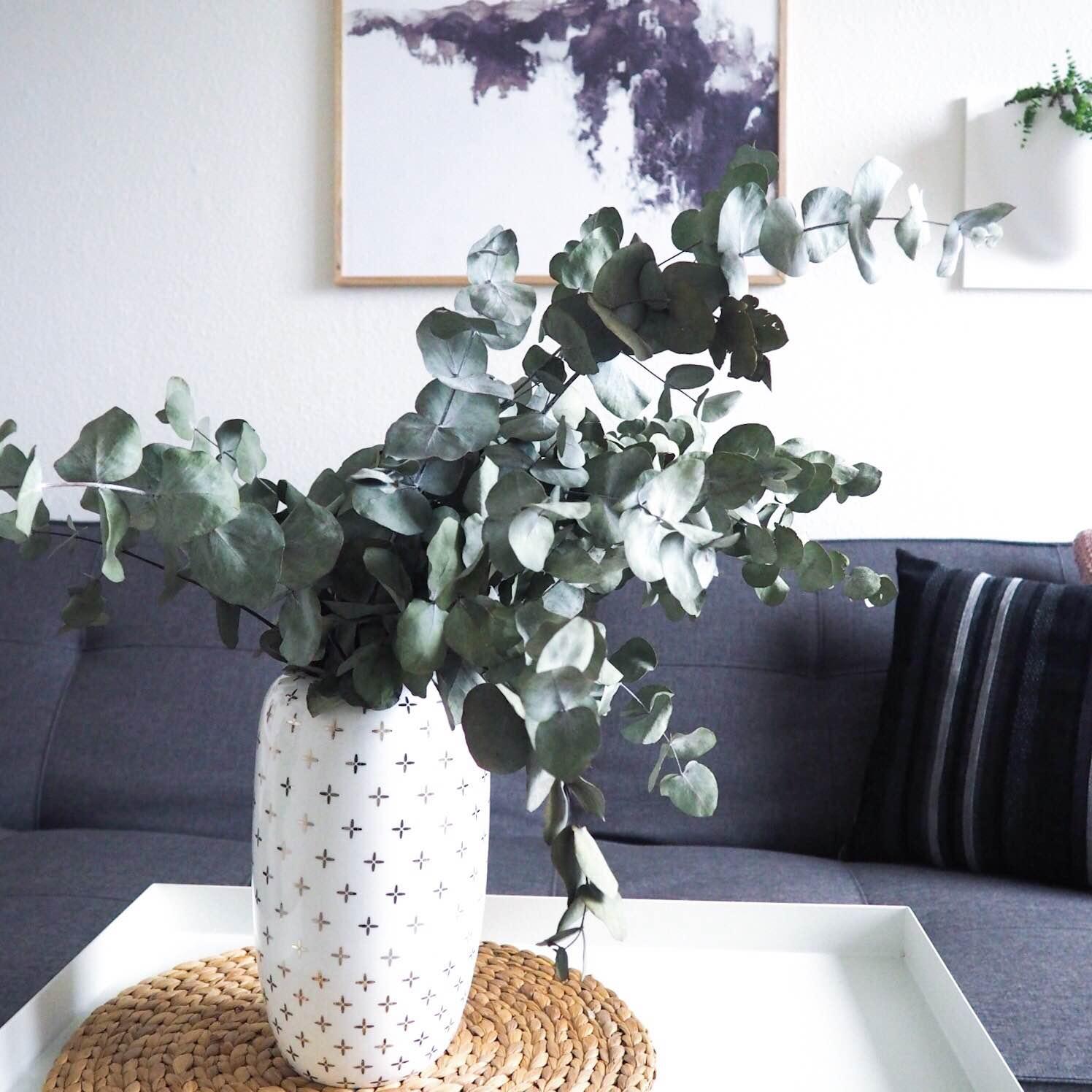 Eucalyptus i Lene Bjerre-vase