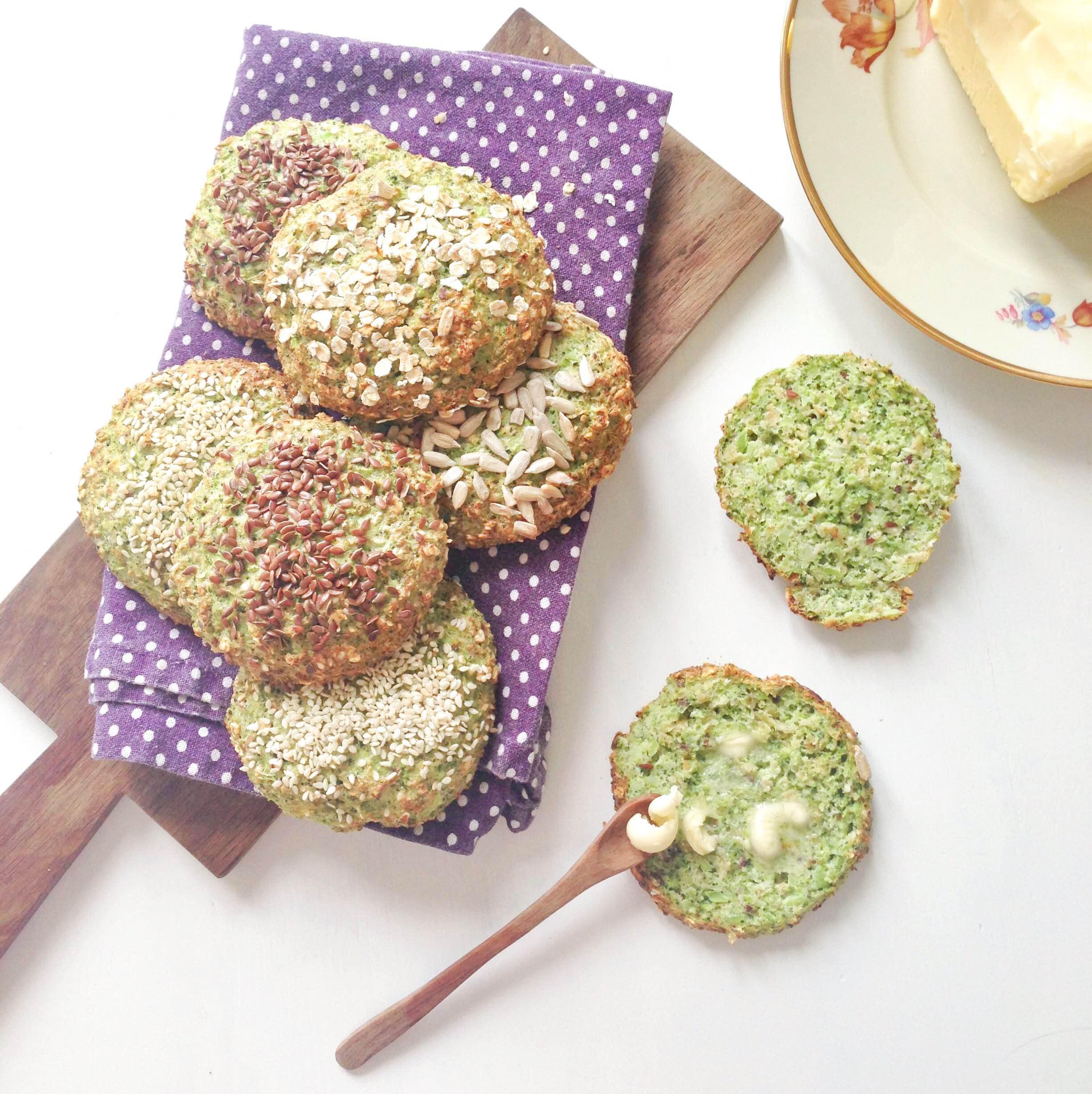 Opskrift på sunde broccoliboller