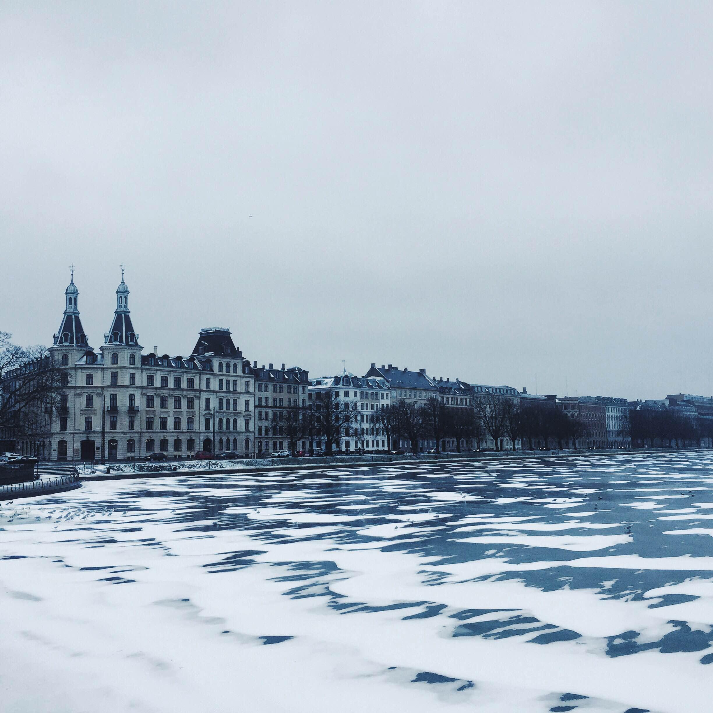 Januar ved Søerne