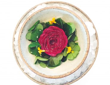 Gourmet-rose hos NOMA