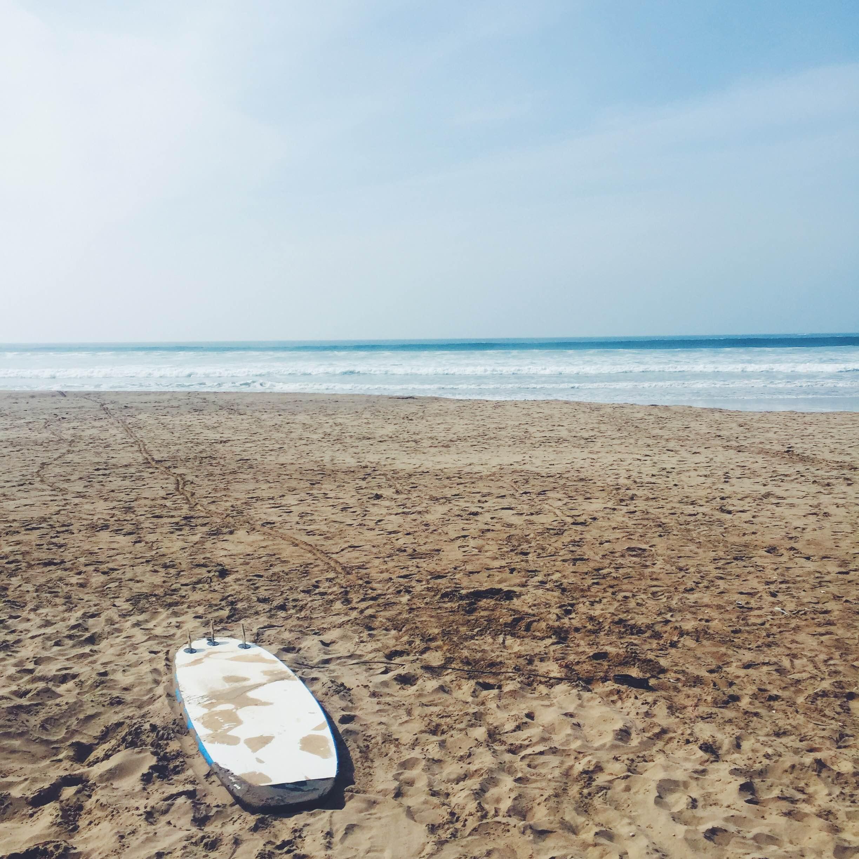 Her skal du surfe i Marokko
