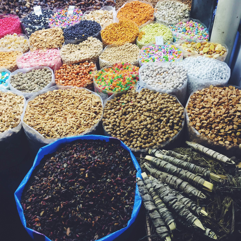 Køb krydderier i Agadir