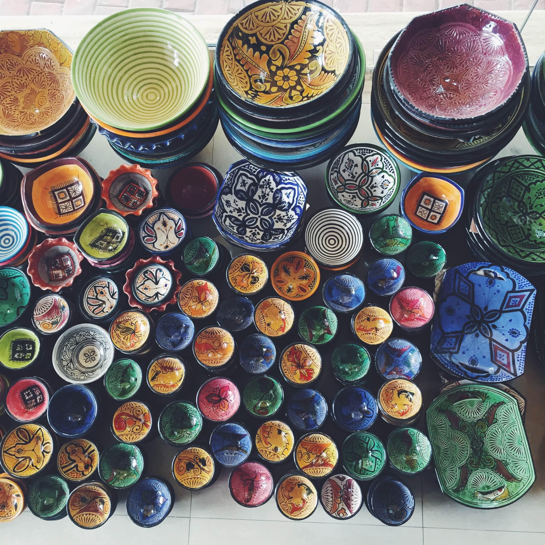 Keramik i Marokko. Det skal du gå efter
