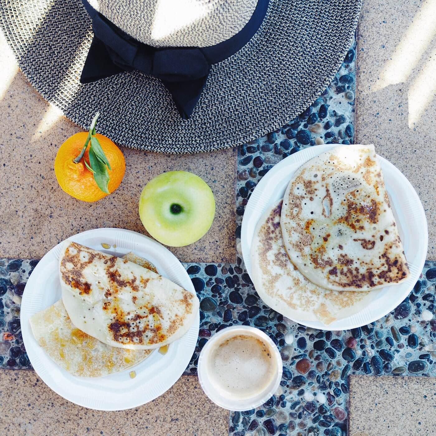 Morgenmad i Marokko. Det spiser man