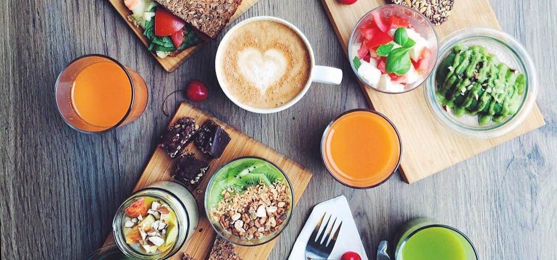 Bæredygtig, sund og grøn og vegetarisk runch hos Djuus Copenhagen