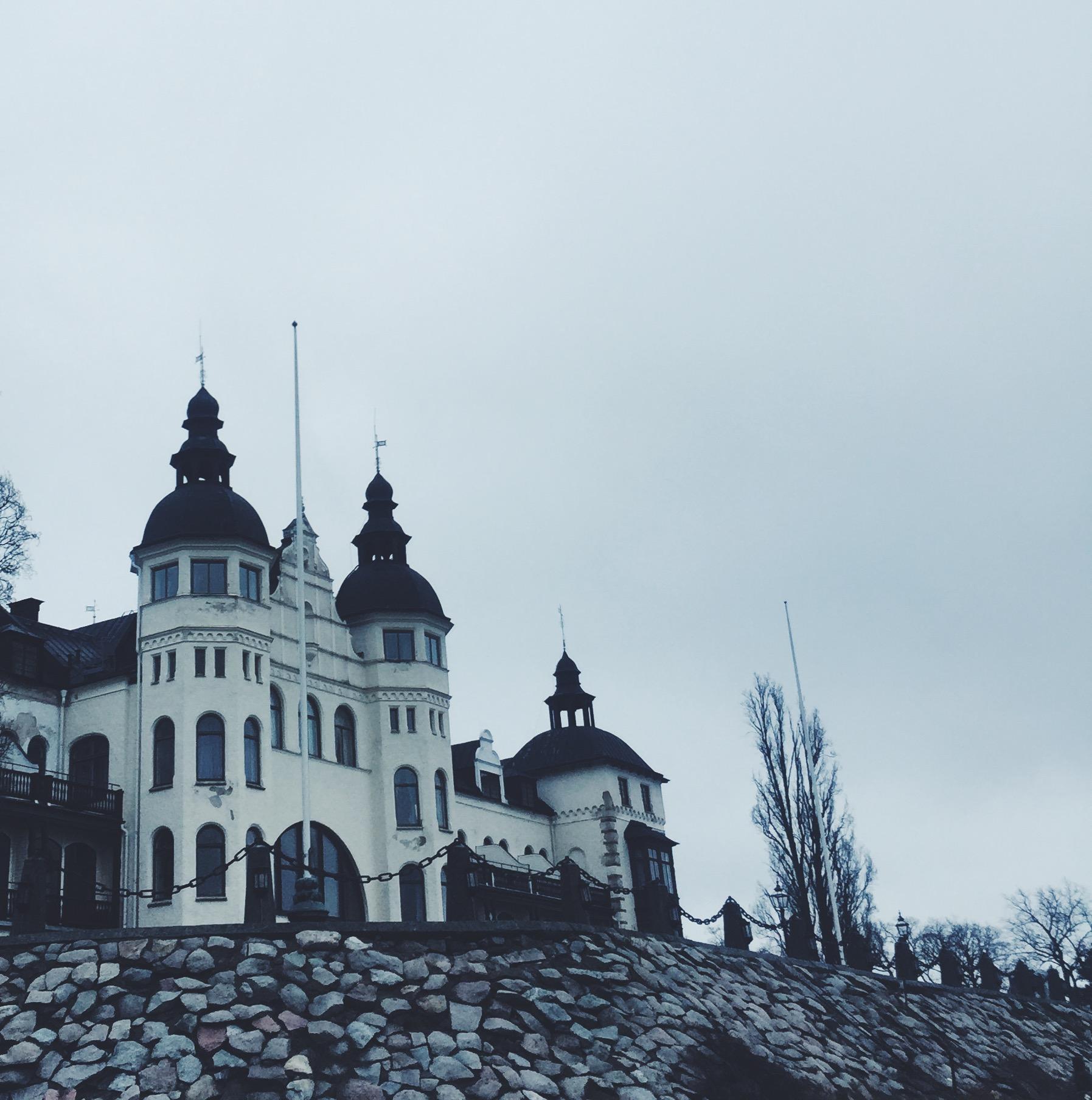 Sådan ser det ud ved Grand Hotel Saltsjöbaden