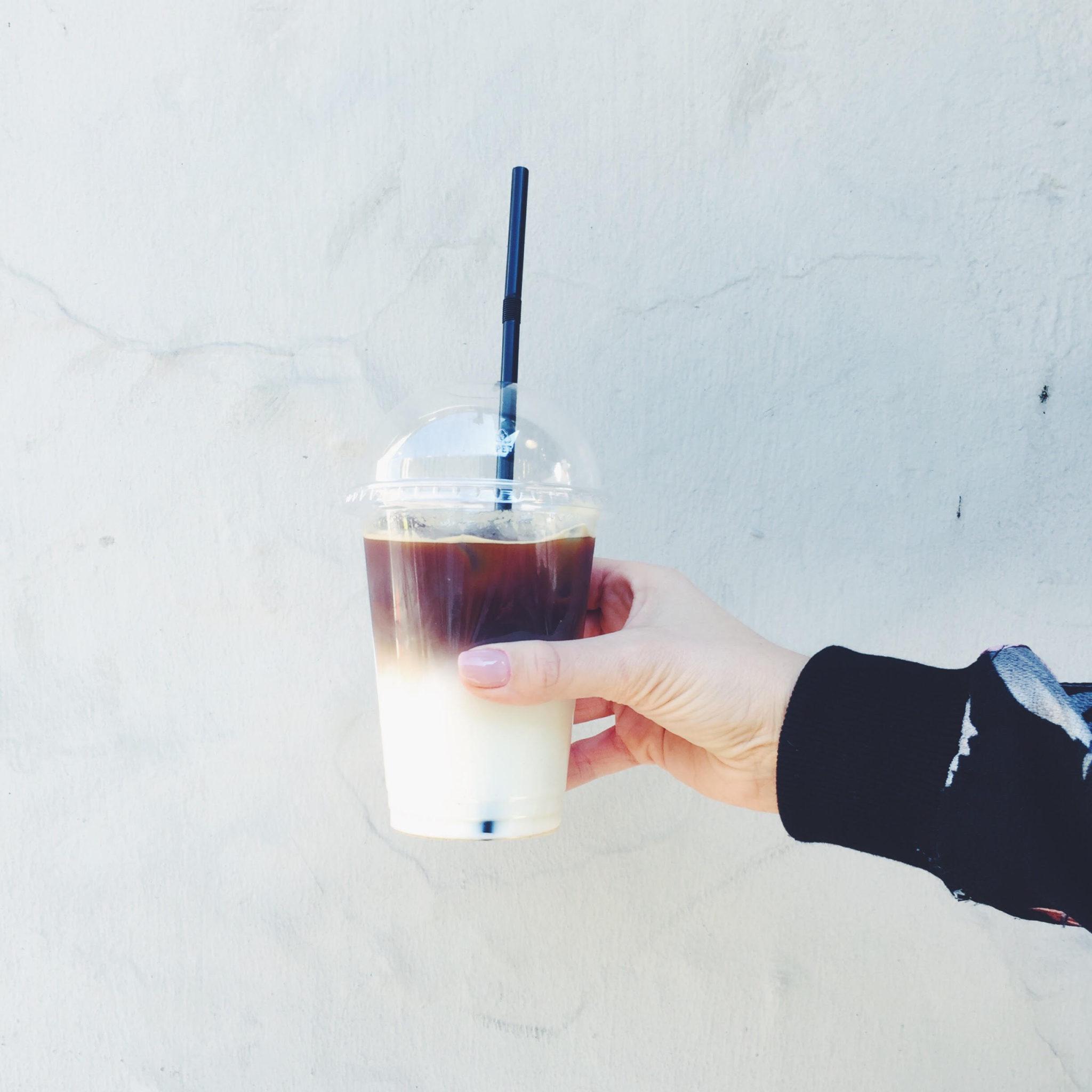 original coffee på Østerbro. 2 x Iskaffe