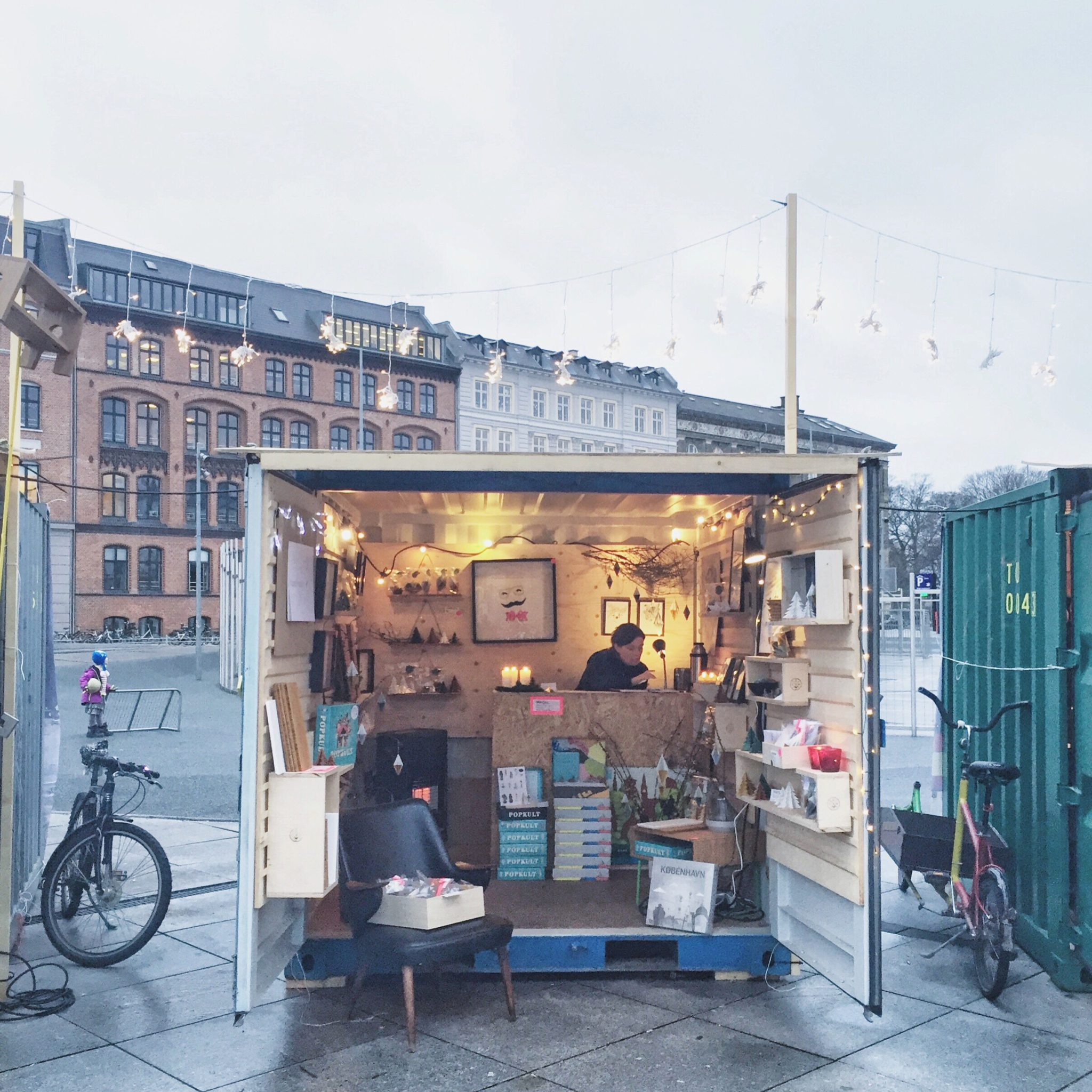 Designer Space Christmas market in 2015
