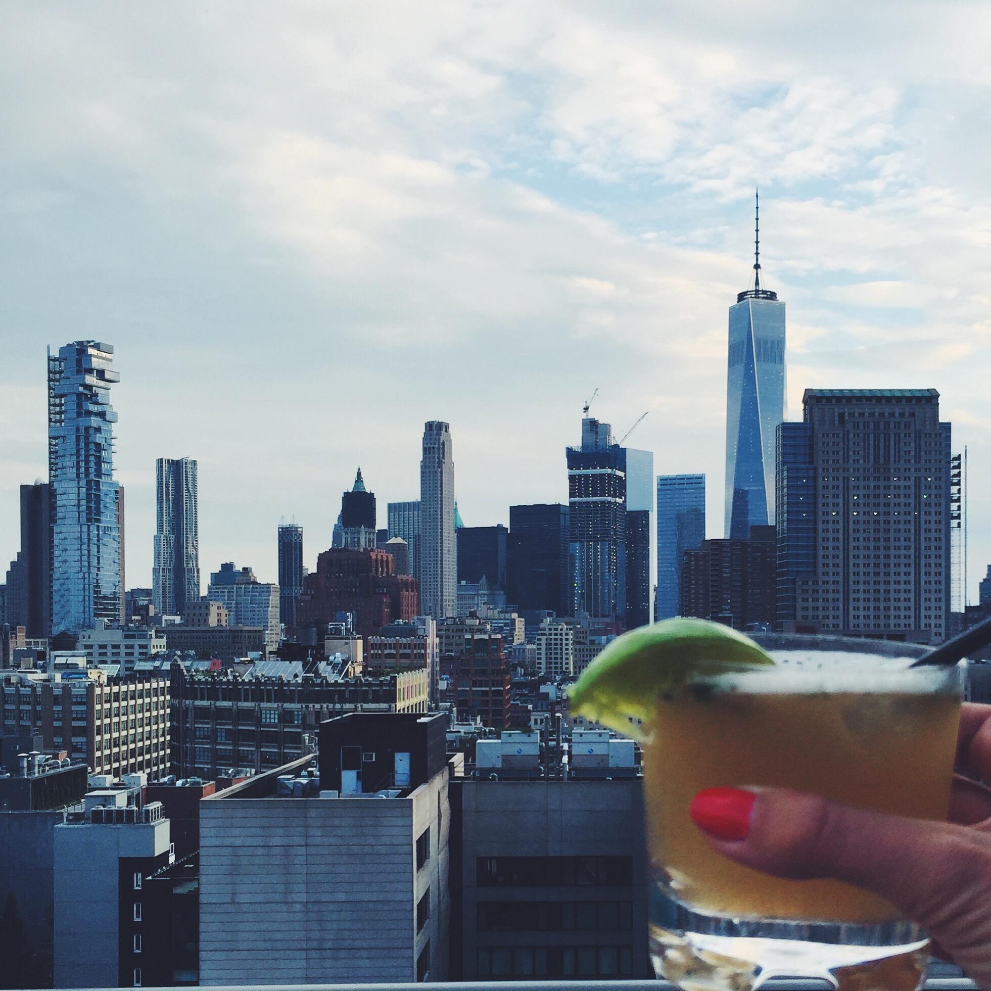 Rooftop drinks på toppen af Hotel Hugo