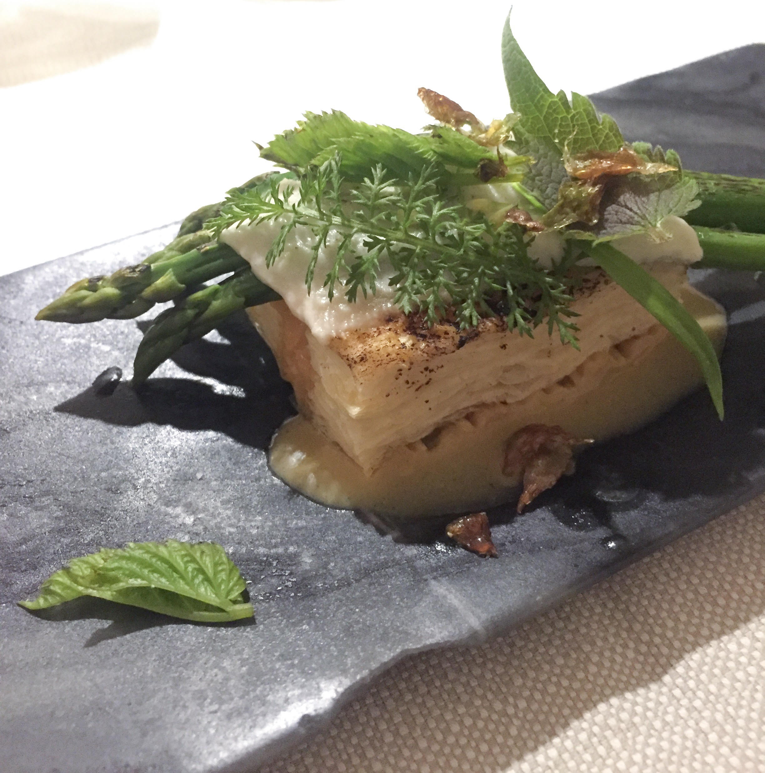 Vegetarisk tartelet på VêVê