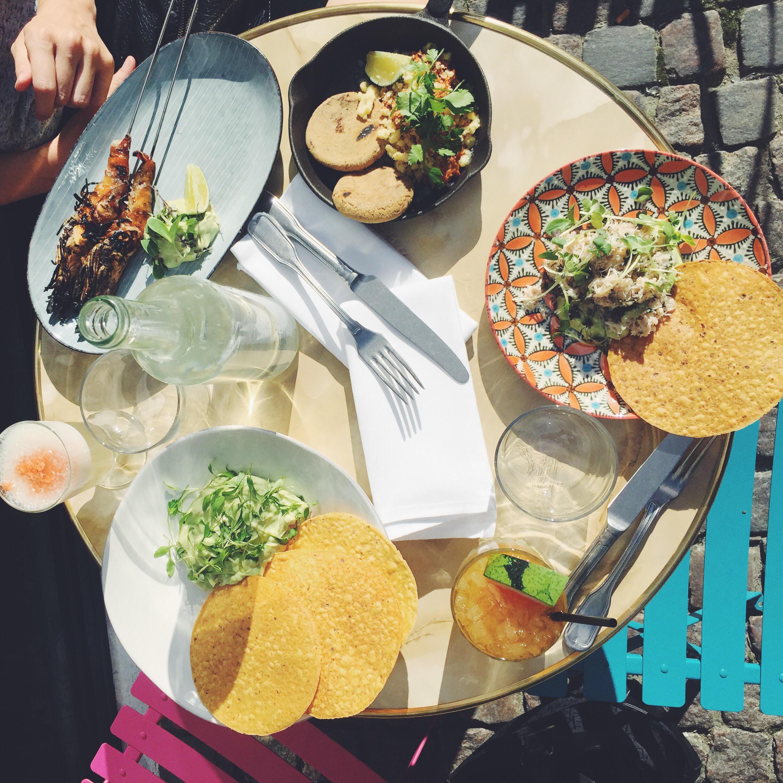 El nacional. Sydamerikansk. En af de restauranter med gode vegetariske muligheder i København