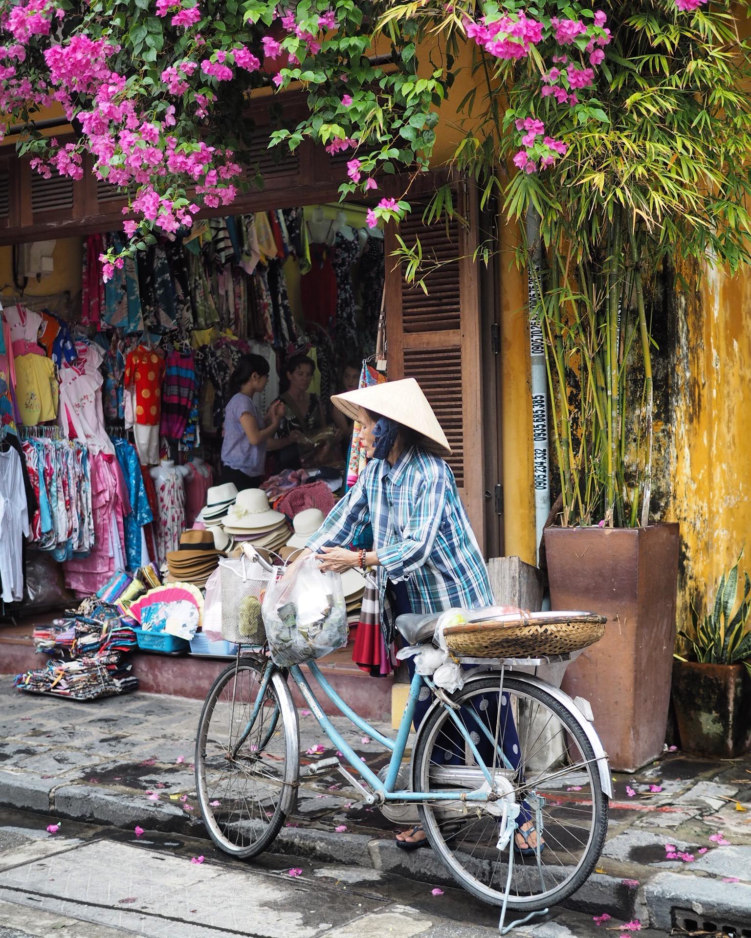 Shopping i Hoi An Vietnam