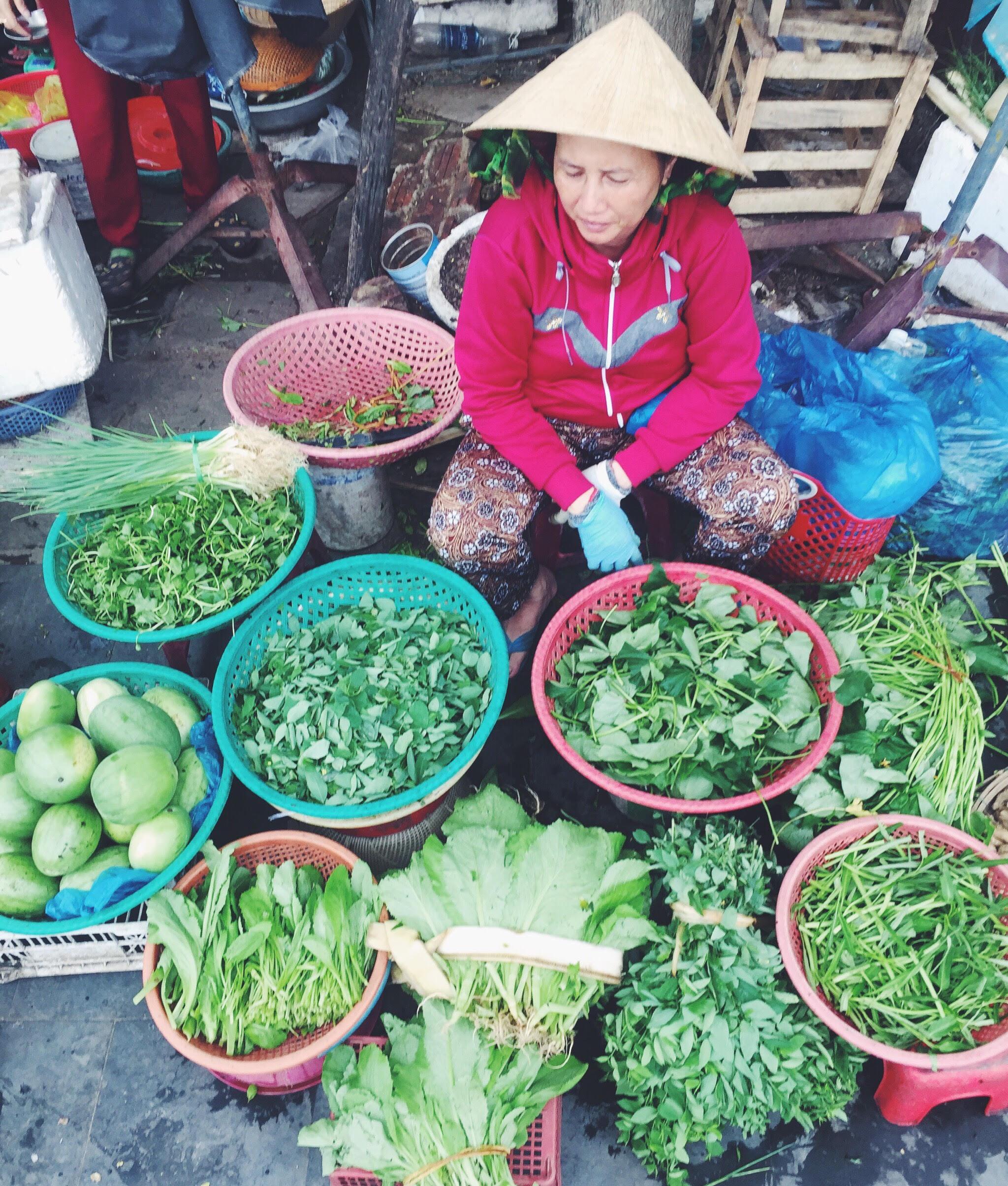 Marked / market Hoi An