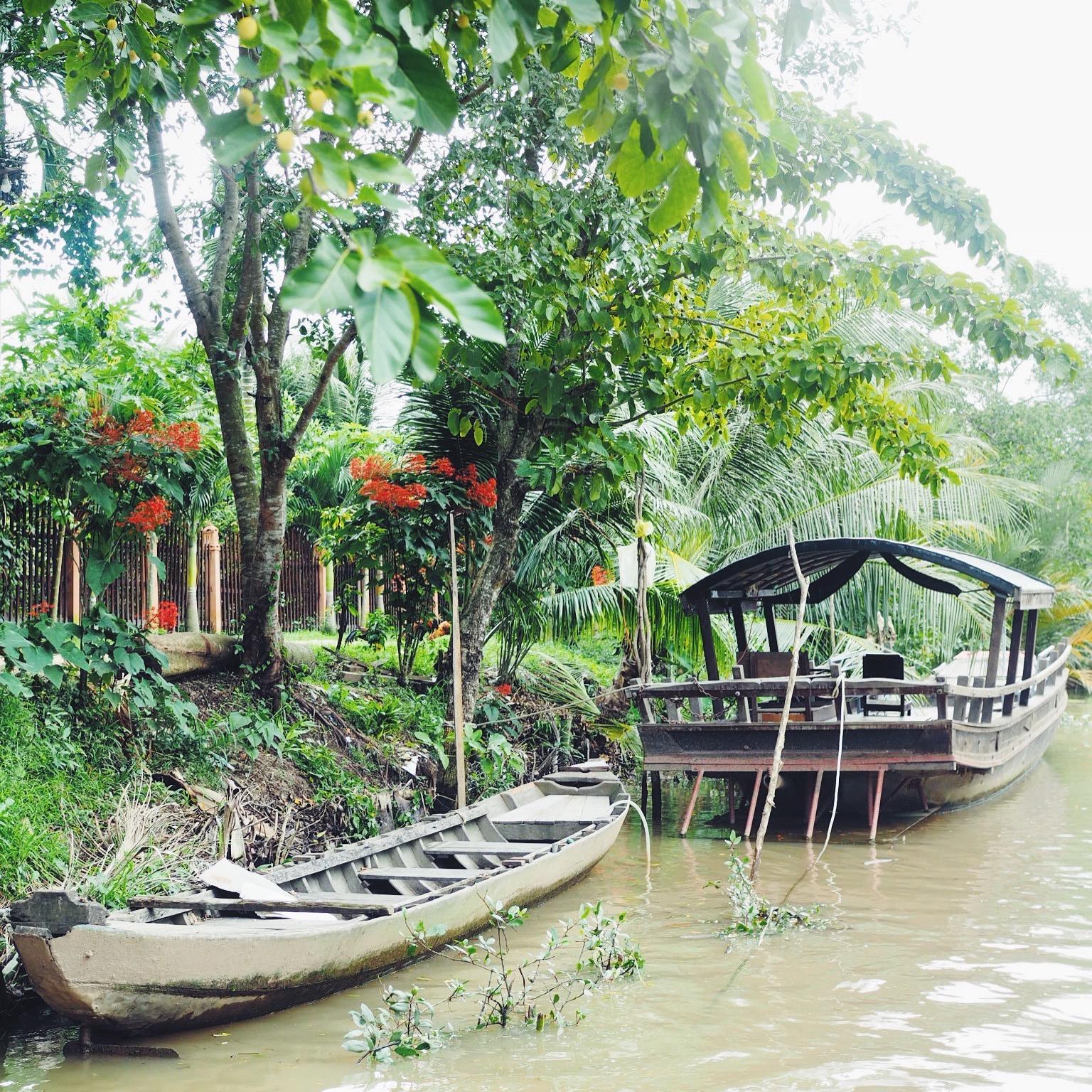 Homestay i Mekong Delta med Yaneeda.com