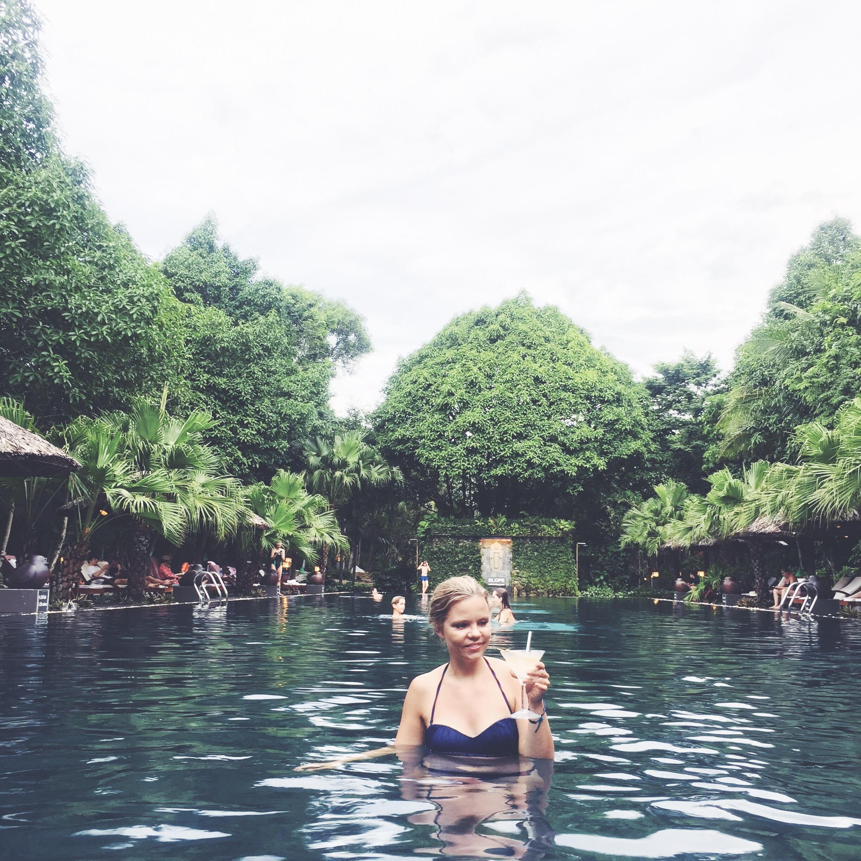 hotel Pilgrimage i Hué Vietnam