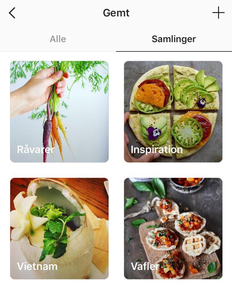 Sådan bruger du bogmærker på Instagram