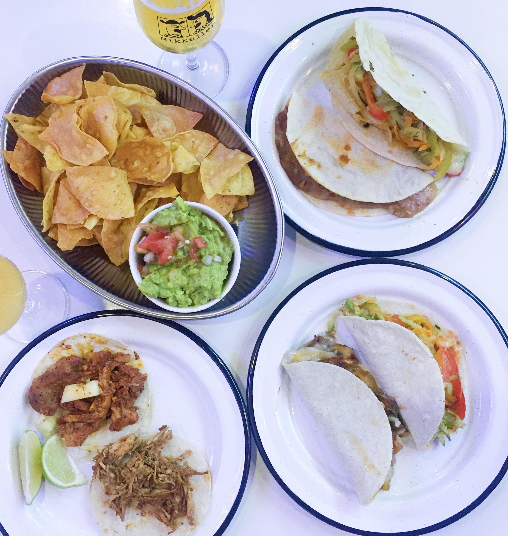 tacos og quesadillas på La Neta på Nørrebro