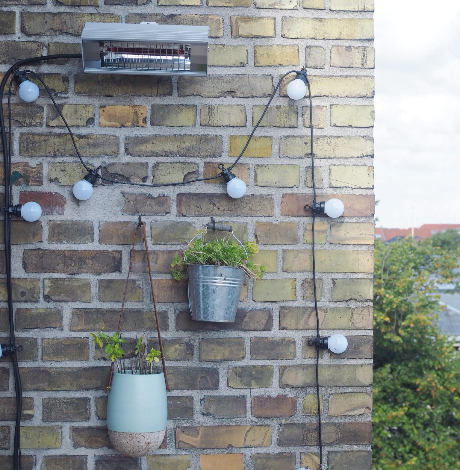 varmelampe til altan og udendørsbrug