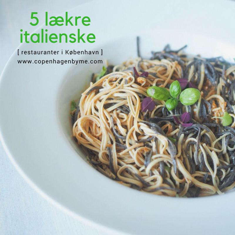 italienske restauranter i københavn