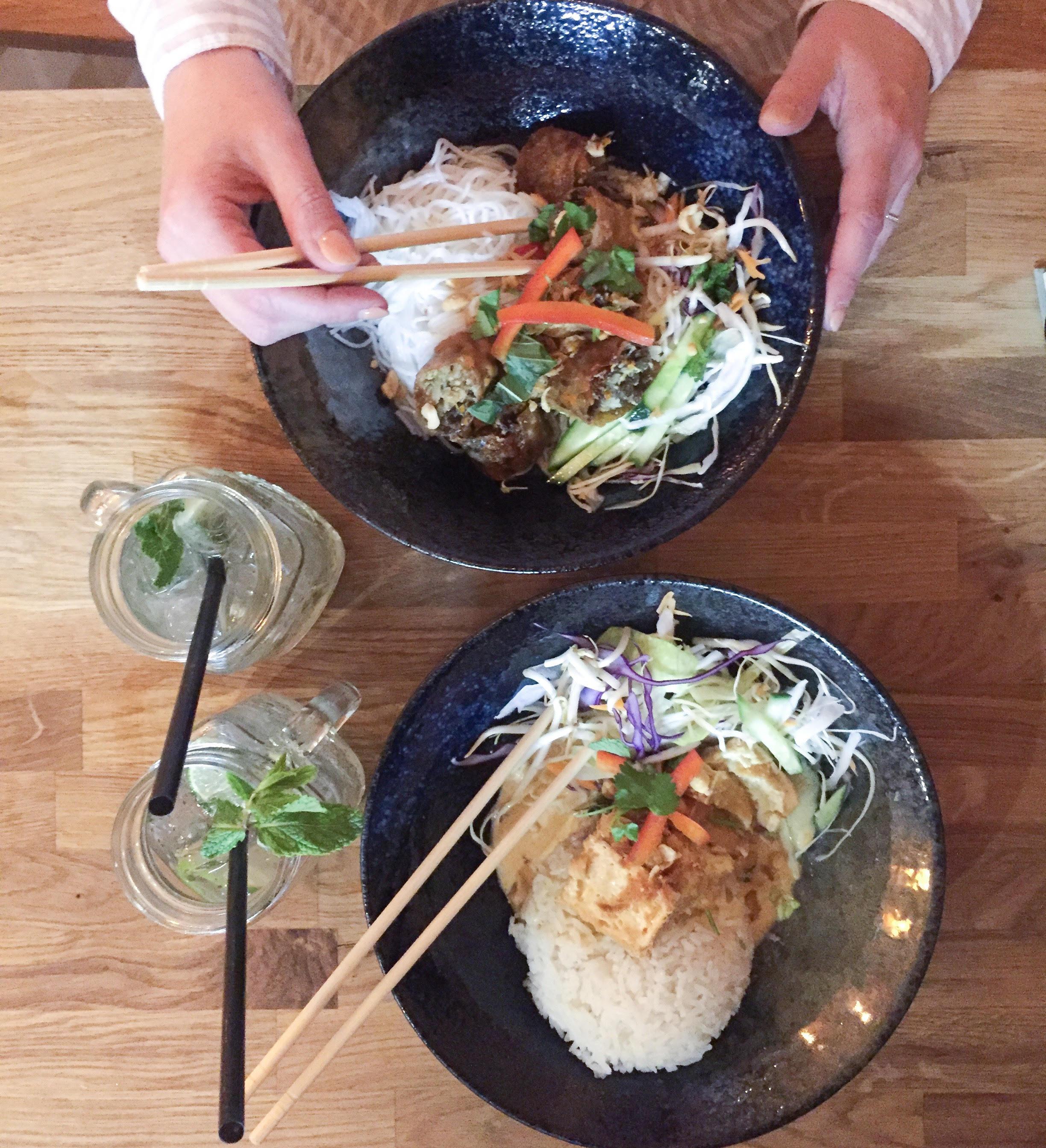 Chao Viet Kitchen i København med lækre veganske og vegetariske retter på menuen