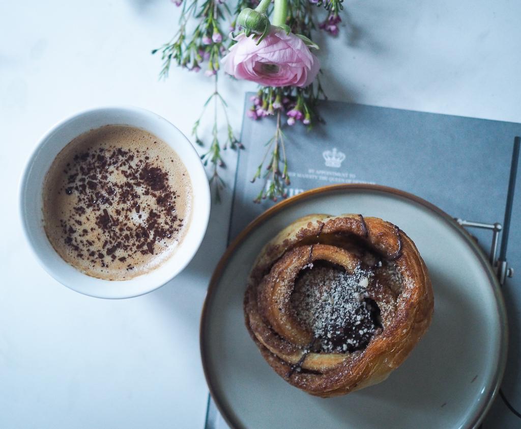 Kaffe of kanelsnegl